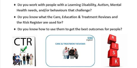 Care and Treatment Review Training Workshop Northampton - 6th November tickets