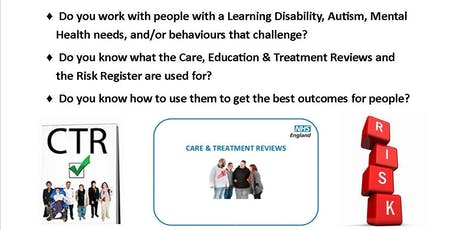 Care and Treatment Review Training Workshop Northampton - 21st November tickets