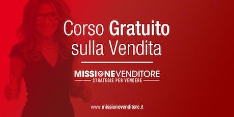 Corso Gratuito MISSIONE VENDITORE biglietti