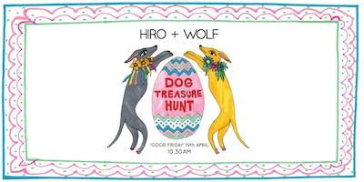 Hiro + Wolf Dog Treasure Hunt