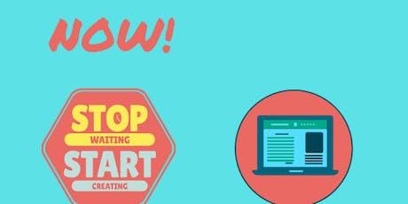 Make Money Blogging Online Course tickets