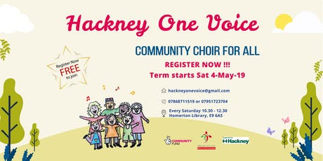 Hackney One Voice - Community Choir for ALL  tickets
