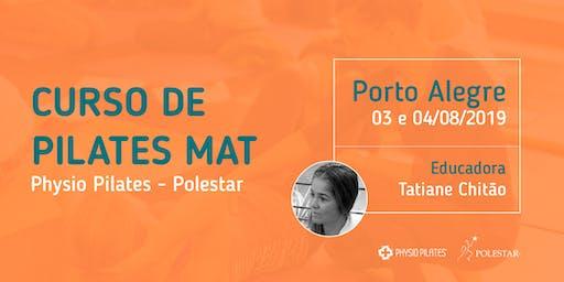 Curso de Pilates Mat - Physio Pilates Polestar - Porto Alegre