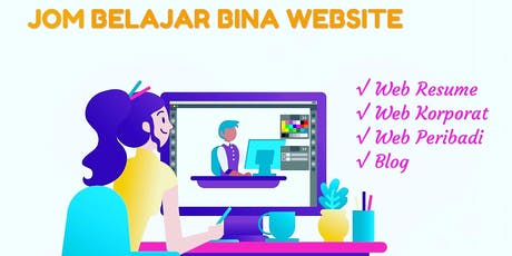 Bina Website Ekspres (Build Website In 1 Day) tickets