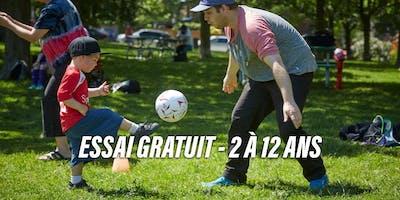 Essai Gratuit de Soccer à Laval - 2 à 9 ans - Sportxpo