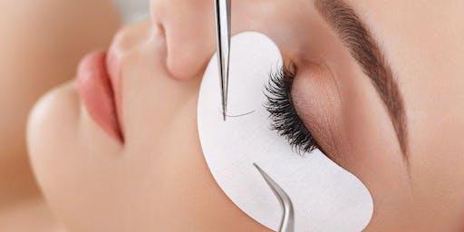 San Antonio Classic Eyelash Extension Training BONUS Lash Lift/Tint Training (Microblading & Shading Training available)