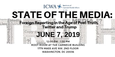 State of the Media: Reporting in the Age of Post-Truth, Twitter and Trump