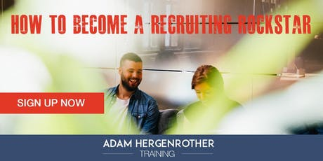 FREE WEBINAR: Strategies for Becoming a Recruiting Rockstar tickets