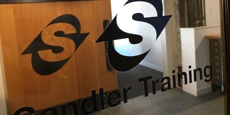 Sandler Training Sales Bootcamp June 27, 2019 tickets