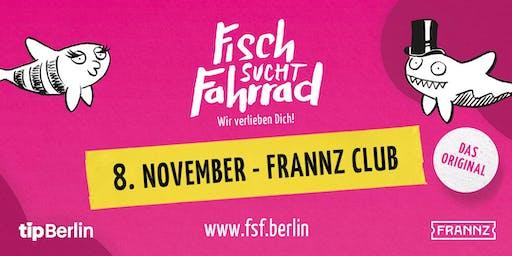 Fisch sucht Fahrrad-Party in Berlin - November 2019