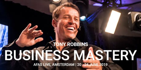 Tony Robbins Business Mastery *DIAMOND TICKET* (Amsterdam 2019) tickets