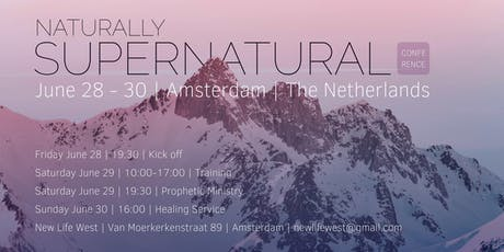 Naturally Supernatural Conference tickets