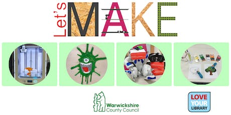Let's Make 3D at Nuneaton Library tickets