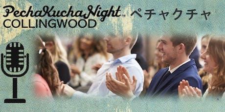 Peckchucka Night Collingood - Volume 3 - a fun, informal, eclectic  gathering! tickets