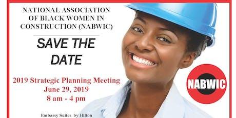 2019 NABWIC Strategic Planning Meeting tickets