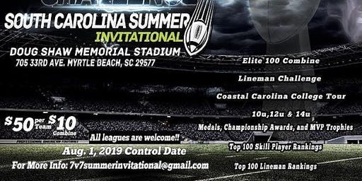 7v7 and Lineman Challenge South Carolina Summer Invitational