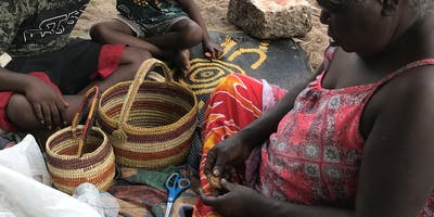 Indigenous cultural weaving weekend with traditional weavers from Arnhem Land