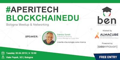 BOLOGNA - Meetup #AperiTech di Blockchain Education Network Italia