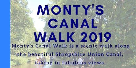 Monty's Canal Walk  tickets