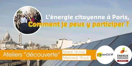 L'énergie citoyenne, comment je peux y participer ? billets