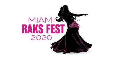 WORKSHOP TICKETS | MIAMI RAKS FEST 2020