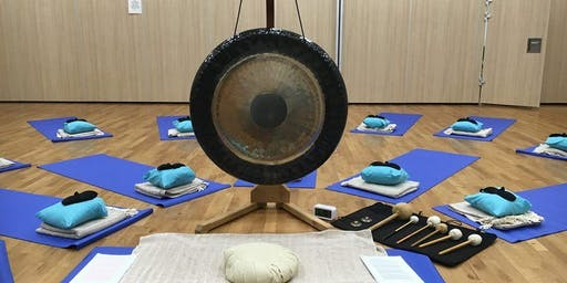 Gong Bath: De-stress and Relax
