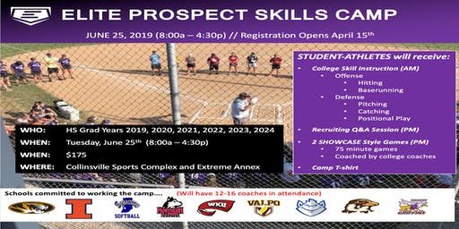 2019 Elite Softball Prospect Skills Camp