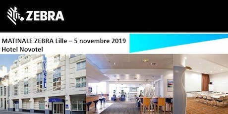 Invitation Ingram - Matinale Zebra - Lille  - 5 Novembre 2019 billets