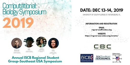 2019 ISCB Student Regional Group - Southeast USA Computational Biology Symposium