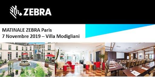 Invitation Jarltech - Matinale Zebra - Paris  - 7 Novembre 2019