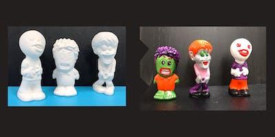 """Ceramic Zombie Contest"" (6yrs+)"