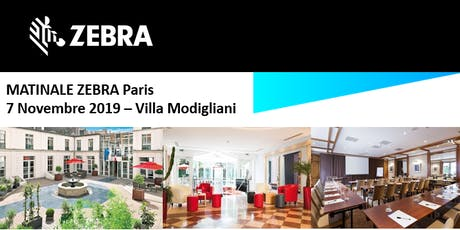 Invitation ScanSource - Matinale Zebra - Paris  - 7 Novembre 2019 billets