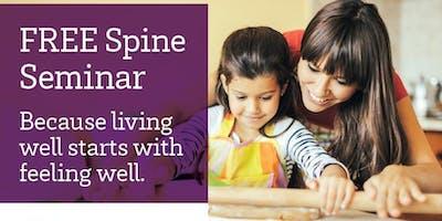 A FREE Seminar to Help You Live Pain Free