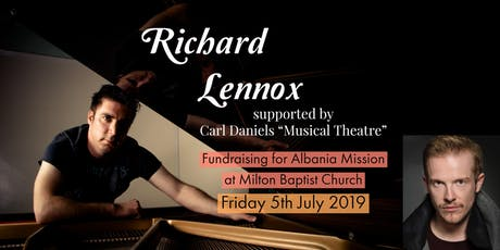 Richard Lennox Summer Concert (Albania Mission) tickets