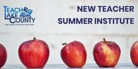 New Teacher Summer Institute tickets