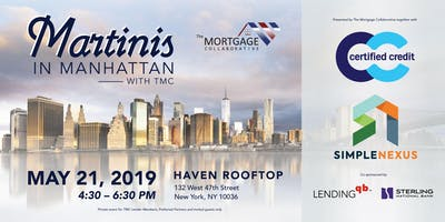 Martinis in Manhattan with TMC