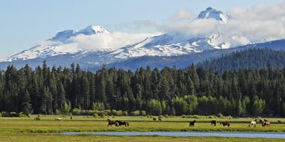 IN A LANDSCAPE: Black Butte Ranch 6:30pm Thu, 6/27