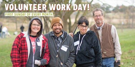 Open Volunteer Work Day! tickets