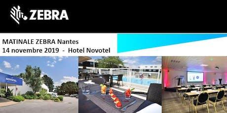 Invitation ScanSource - Matinale Zebra - Nantes  - 14 Novembre 2019 billets