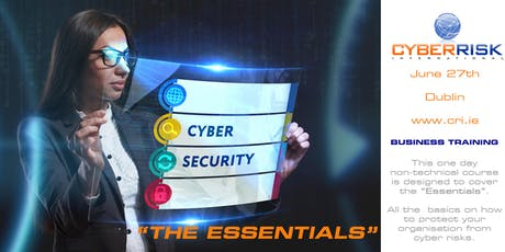 "Cyber Security - ""The Essentials"" - September 26th 2019 tickets"