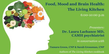 Food, Mood and Brain Health:  The Living Kitchen tickets