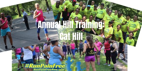 The annual #RUNPAINFREE Hill Training Event! LIVE FB! tickets