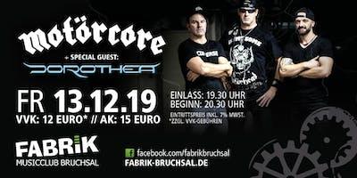 MOTÖRCORE - Motörhead Tribute + Special Guests