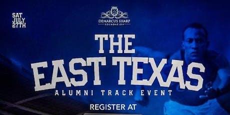 East Texas Alumni Track Meet tickets