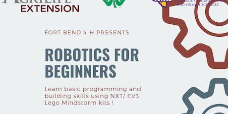 Fort Bend 4-H : Robotics for Beginners - Workshop #2 tickets