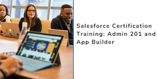 Salesforce Admin 201 and App Builder Certification Training in Waterloo, IA