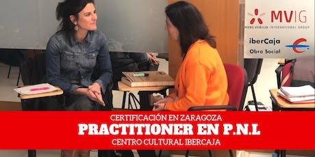 LICENSED PRACTITIONER EN P.N.L INTENSIVO DE VERANO EN ZARAGOZA entradas