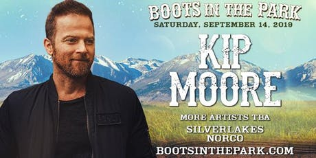 Boots in the Park - SilverLakes with Kip Moore tickets