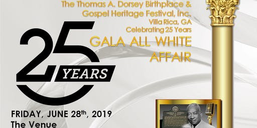 Thomas Dorsey Birthplace Festival All White Gala 25 Years