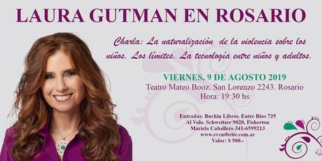 Laura Gutman en Rosario entradas